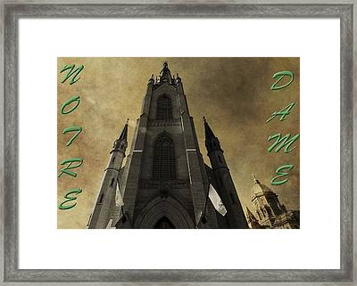 Notre Dame Framed Print by Dan Sproul