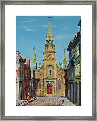 Notre Dame De Bonsecours Framed Print