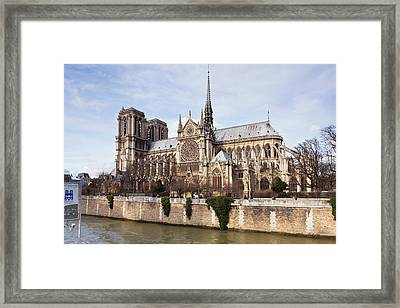 French Gothic Architecture Framed Art Prints