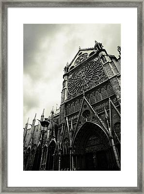Notre Dame De Paris Framed Print by Cambion Art
