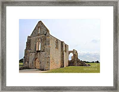 Framed Print featuring the photograph Notre Dame De Re by Cendrine Marrouat
