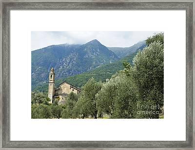 Notre Dame Du Mont Des Oliviers Chapel Framed Print