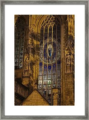 Notre Dame Du Sablon Framed Print
