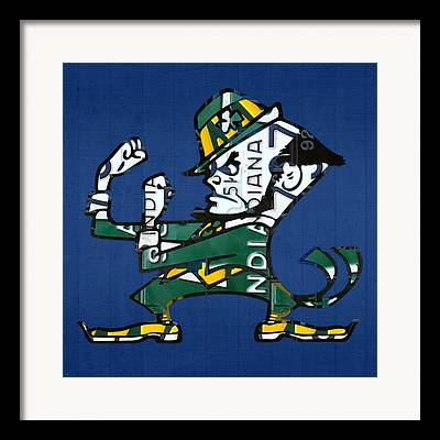 Fighting Irish Framed Prints