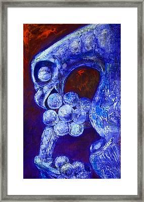 Notre Dame Gargoyle Framed Print by Derrick Higgins
