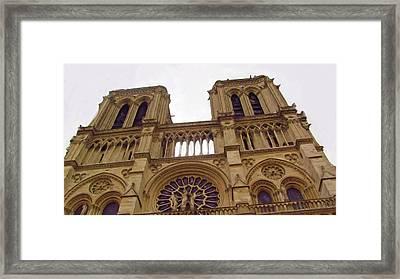 Notre Dame Framed Print by Jenny Armitage