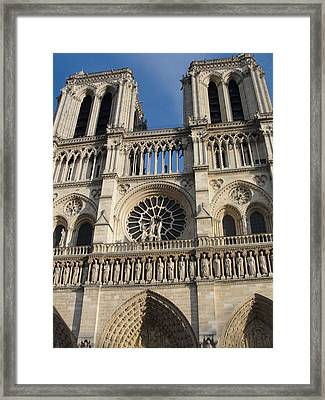 Framed Print featuring the photograph Notre Dame by Tiffany Erdman