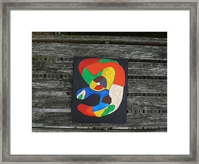 Notsofunny Framed Print by David King