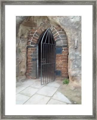Nottingham Castle Gateway Framed Print