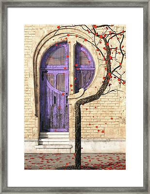 Nouveau Framed Print by Cynthia Decker