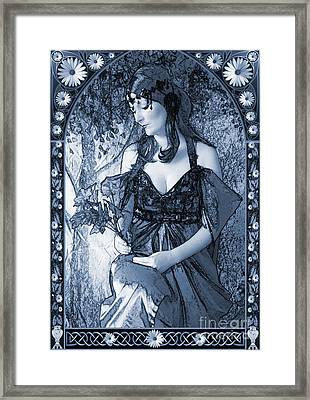 Nouveau In C Framed Print by John Edwards
