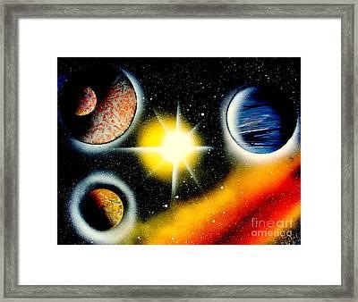 Nova 4671 E Framed Print by Greg Moores