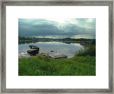 Nova Scotia Evening Framed Print