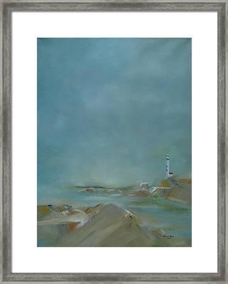 Nova Scotia Fog Framed Print