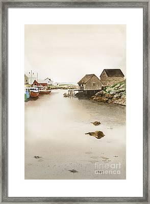 Nova Scotia Framed Print by Monte Toon