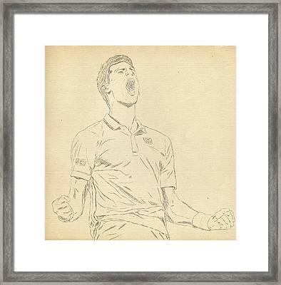 Novak Framed Print