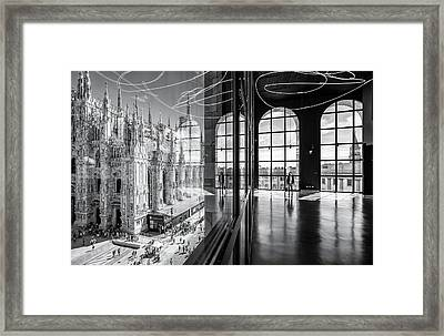 Novecento's Reflections Framed Print