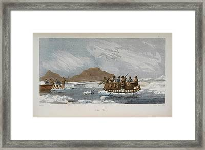 Novel Ferry Framed Print by British Library