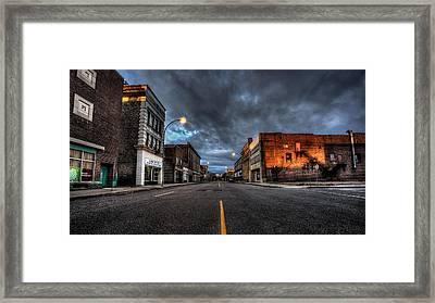 November Morning Victoria Ave. Framed Print by Jakub Sisak
