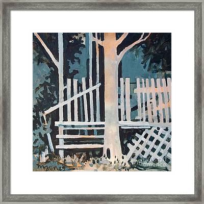 November Shadows Framed Print by Micheal Jones