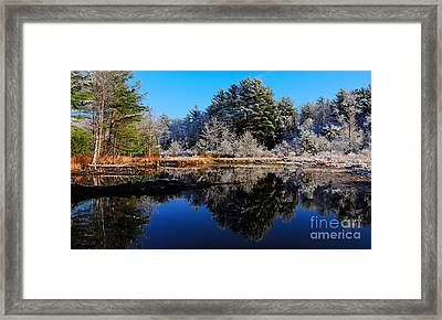 November Snow Framed Print