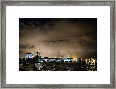 November Storm 3 Framed Print