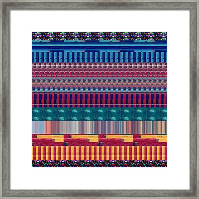 Novino Signature Color Spectrum Buy Any Faa Product Or Download For Self-printing  Navin Joshi Right Framed Print by Navin Joshi