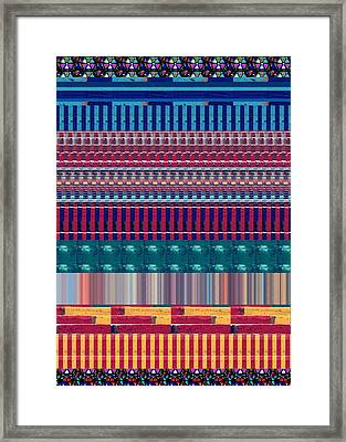 Novino Signature Color Spectrum Buys Any Faa Product Or Download For Self-printing  Navin Joshi Righ Framed Print by Navin Joshi