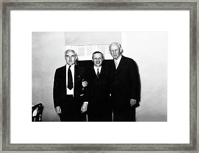 Novy Framed Print by American Philosophical Society