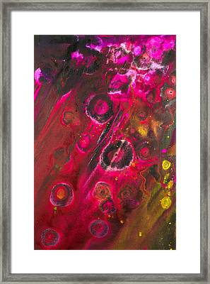Now And Then  Framed Print by Niloofar Damvar