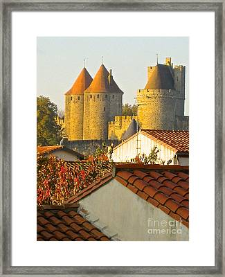 Now And Then Framed Print by Suzanne Oesterling