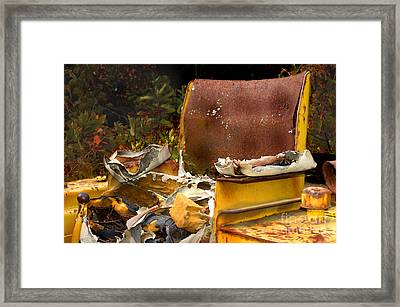 Now Boarding... Framed Print by The Stone Age
