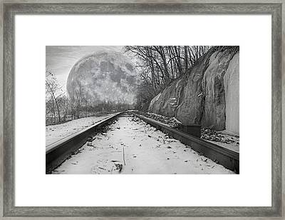 Now Entering Splendor City Framed Print by Betsy Knapp