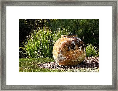 Now Its Your Urn Db Framed Print by Rich Franco