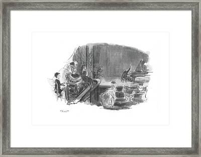 Now? Framed Print by Perry Barlow