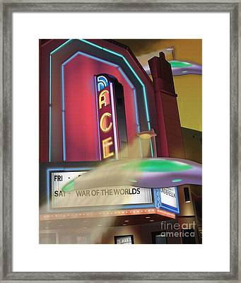 Now Showing Framed Print