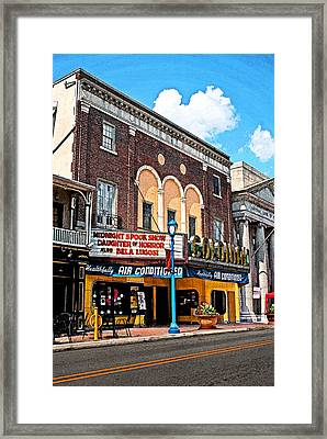 Now Showing Framed Print by Michael Porchik