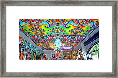 Now That's A Ceiling Framed Print by Jim Fitzpatrick