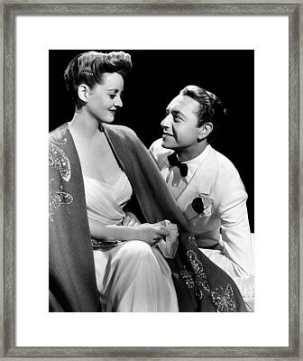 Now, Voyager, From Left, Bette Davis Framed Print