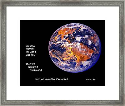 Now We Know Framed Print by Mike Flynn