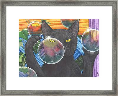 Now You See It Framed Print by Catherine G McElroy