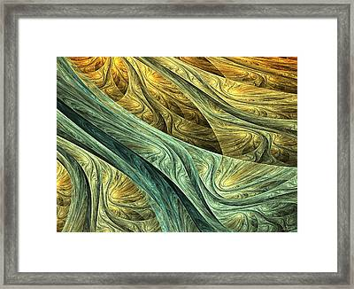 Nowhere Framed Print by Lourry Legarde