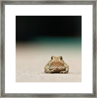 Nowhere Man Framed Print by Annette Hugen