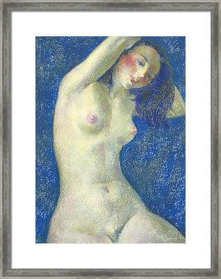 Nu 1 Framed Print by Leonid Petrushin