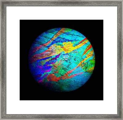 Nu Currents Framed Print by Wendy Wiese