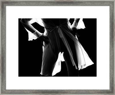 Nu_01 Framed Print