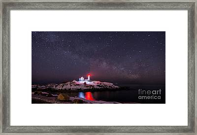 Nubble And The Milkyway Framed Print