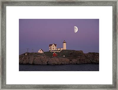 Nubble Light Framed Print by Christian Heeb