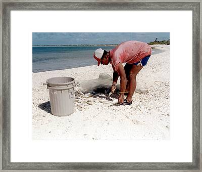 Nuclear Fallout Survey Framed Print by Us Department Of Energy