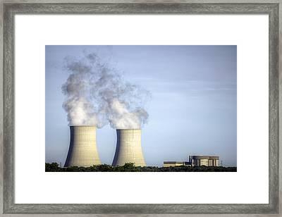 Nuclear Hdr3 Framed Print